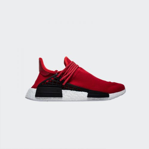"Pharrell Williams x Adidas NMD Human Race ""Red"" BB0616 Real Boost"