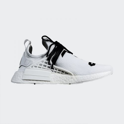 "Fear of God x Pharrell Williams x Adidas NMD Human Race ""White"" Real Boost"
