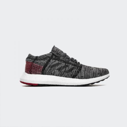 Adidas Pure Boost Core Black Power Red AH2323