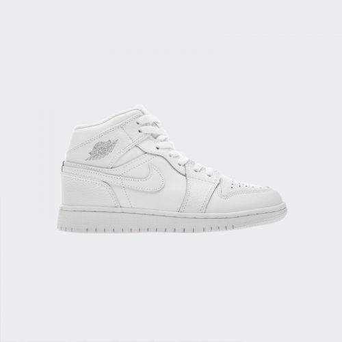 "Air Jordan 1 Retro Mid GS ""White"" 554725-109"