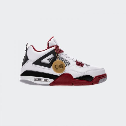 "Air Jordan 4 Retro ""Fire Red"" 308497-160"