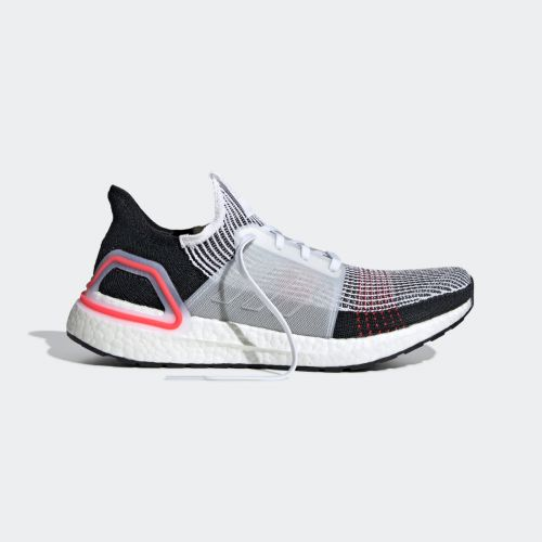 adidas Ultra Boost 19 White Active Red B37703