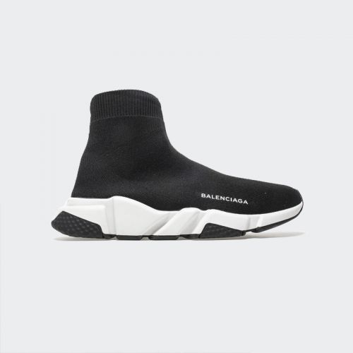 Balenciaga Speed Runner Black White