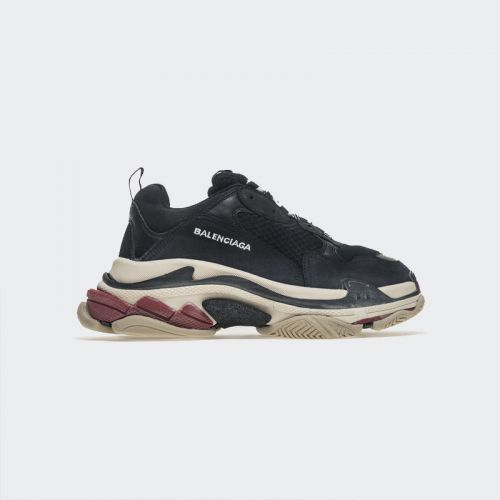 Balenciaga Triple S Sneaker Black Red 483513W06E1 1000