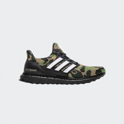 "Bape x Adidas Ultra Boost ""Green Multicolor"" BB8586"