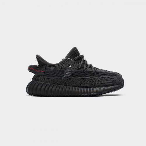 Kids Adidas Yeezy Boost 350 V2 Infant Black Reflective FU9013
