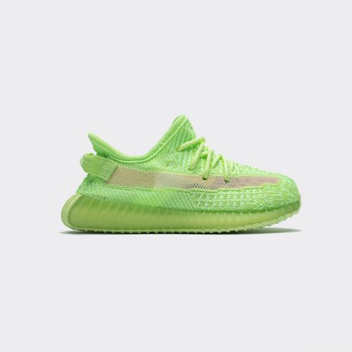 Kids Adidas Yeezy Boost 350 V2 Infant Glow In Dark EG6884