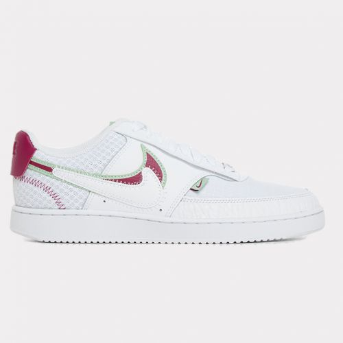 Nike Court Vision LO PRM White Noble Red CI7827-100