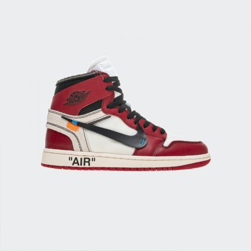 "OFF-WHITE x Air Jordan 1 High OG 10X""Chicago""AA3834-101"