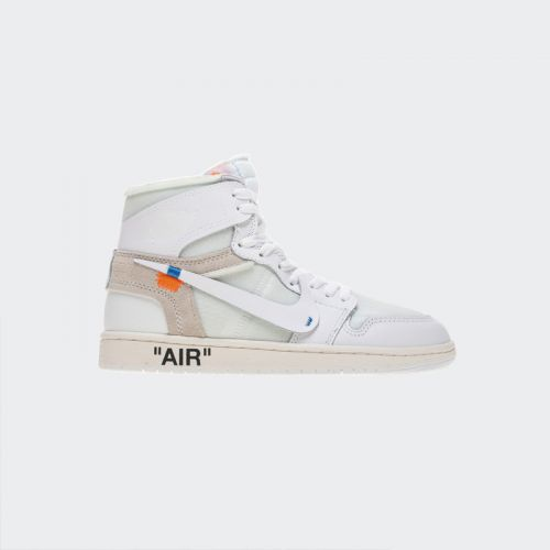 OFF WHITE X Air Jordan 1 Retro White AQ0818-100