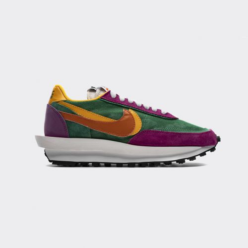Sacai x Nike LDWaffle Green-Pink-Orange BV0073-301