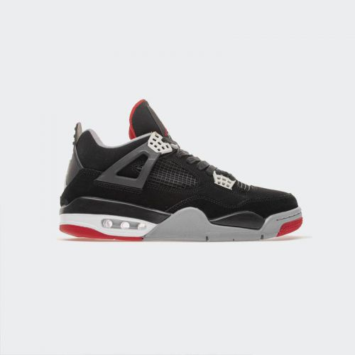 Air Jordan 4 Black Red 308497-089