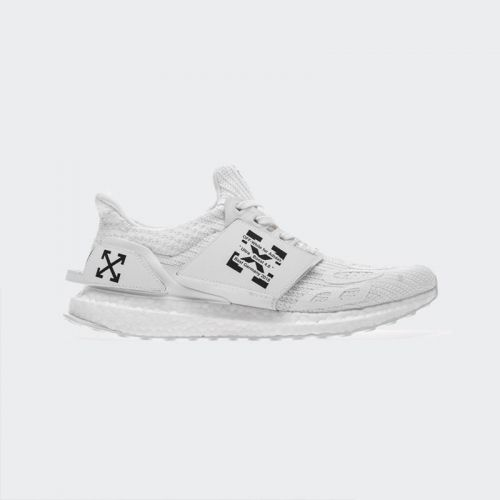 OFF White x Fear Of God x Adidas Ultra Boost 4.0 Triple White