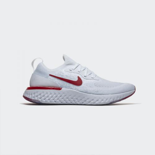 Nike Epic React Flyknit White Red AQ0067-106
