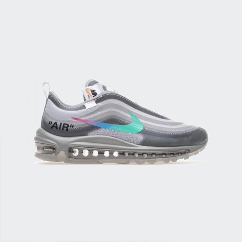 "OFF WHITE X Nike Air Max 97 ""Wolf Grey Menta"" AJ4585-012"