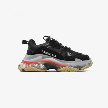 Balenciaga Sneaker Triple S Black Red 656686 W06G0 1001