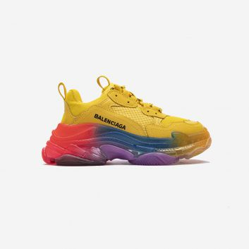 Balenciaga Triple S Clear Sole trainers rainbow Yellow 656686W06G01001