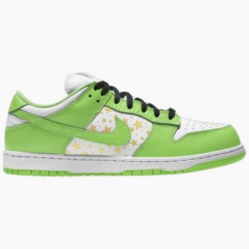 Nike SB Dunk Low Supreme Stars Mean Green (2021) DH3228-101