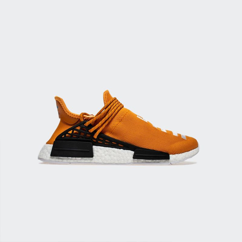"best loved de0bb 68790 Pharrell Williams x Adidas NMD Human Race ""Orange"" BB3070 Real Boost"