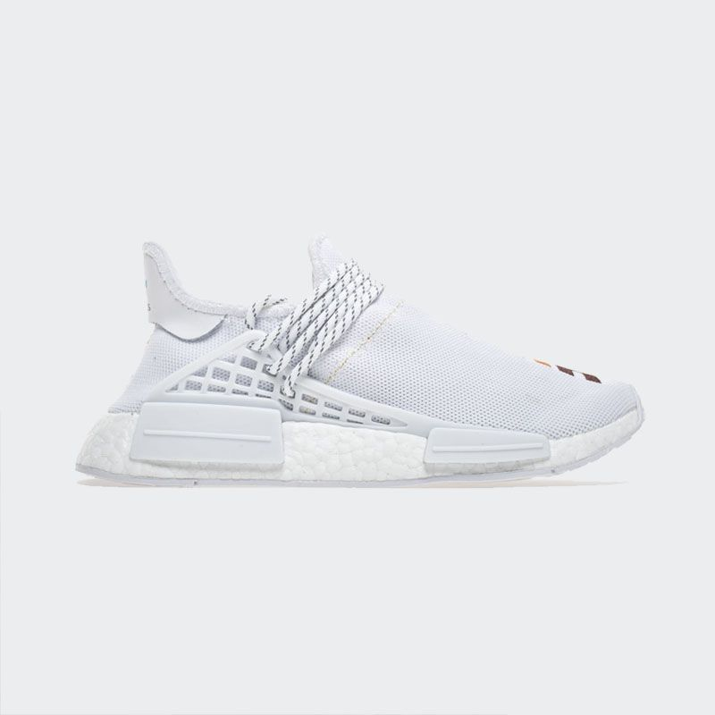 "size 40 ebefd 3d3ad Pharrell Williams x Adidas NMD Human Race ""Birthday"" Real Boost"