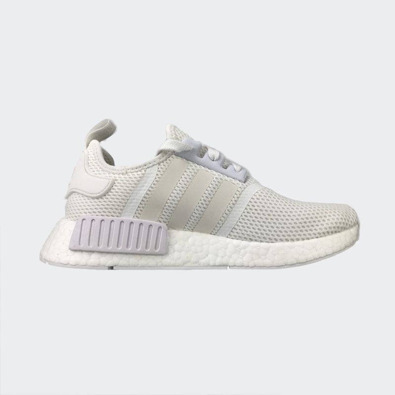 "size 40 ccf70 8f38a Adidas NMD R1 Mesh 3M ""Triple White"" S79166"