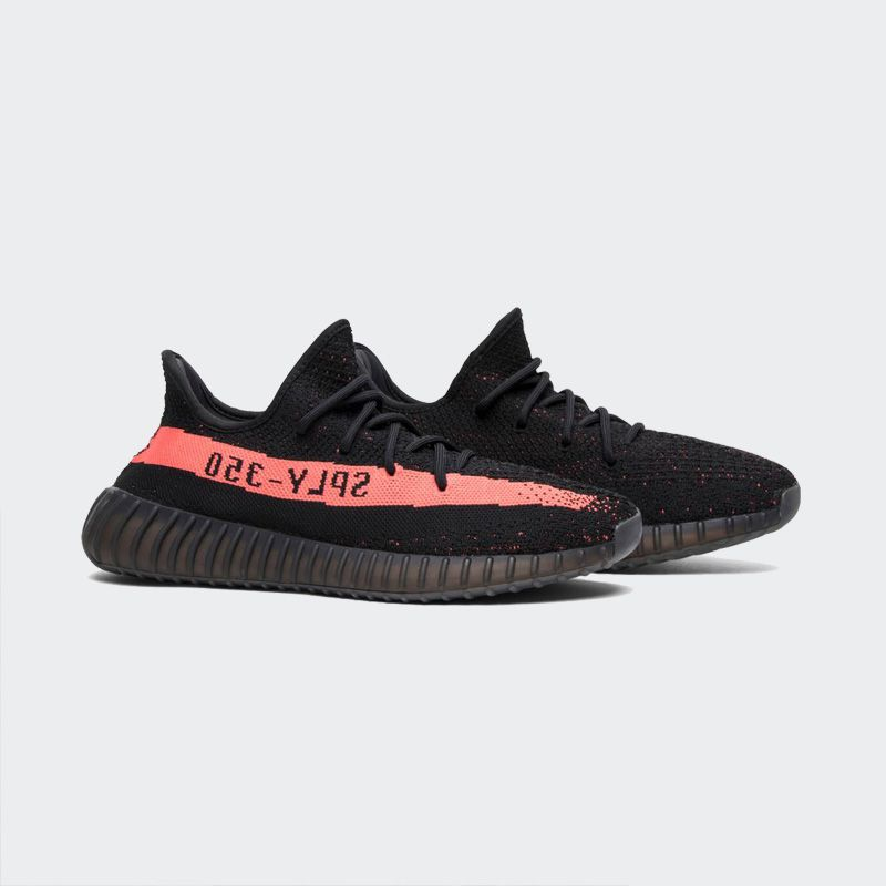 buy popular f6f0c 612d8 Adidas Yeezy Boost 350 V2 Core Black Red Real Boost BY9612
