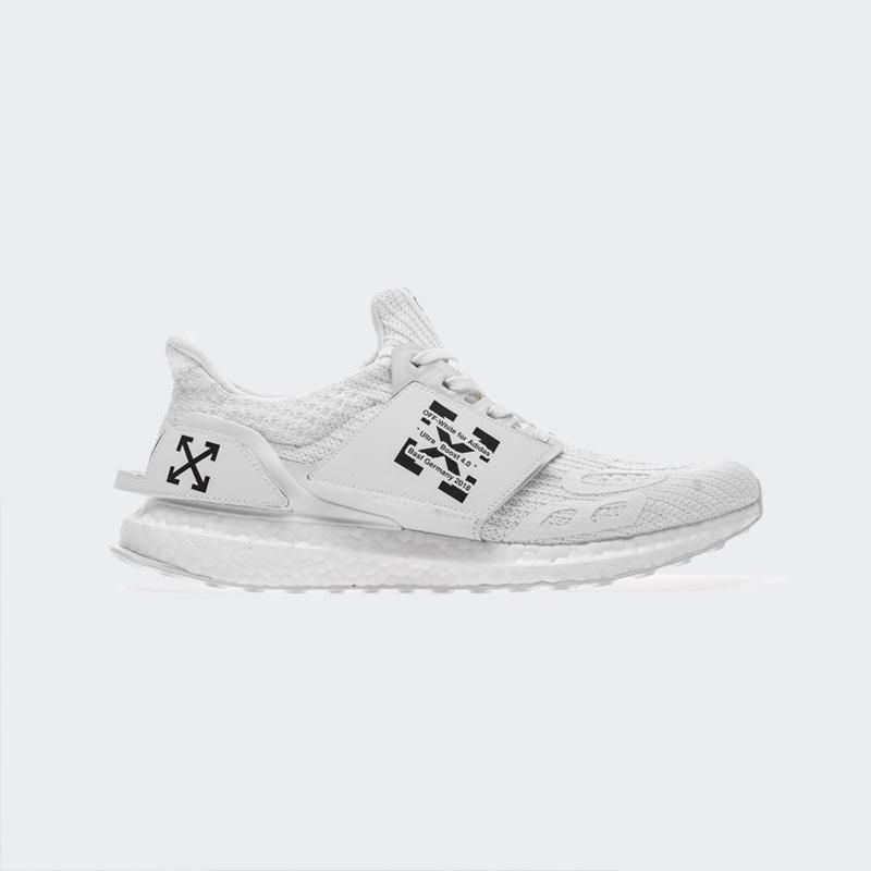official photos 79e77 07325 OFF White x Fear Of God x Adidas Ultra Boost 4.0 Triple White