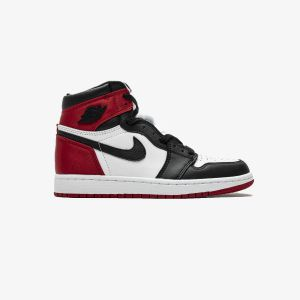 Air Jordan 1 OG High OG 'Satin Black Toe' CD0461-016