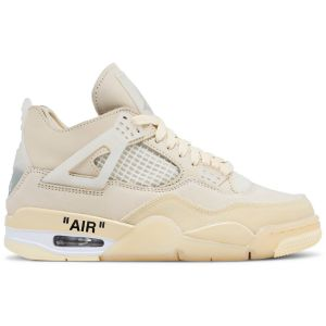 OFF-WHITE x Wmns Air Jordan 4 SP 'Sail' CV9388 100