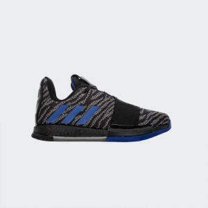 Adidas Harden Vol.3 Basketball Shoes Black Blue EE3957