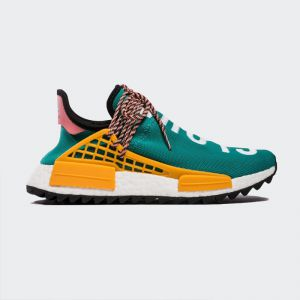 "Pharrell Williams x Adidas NMD Human Race ""Sun Glow"" Real Boost AC7188"