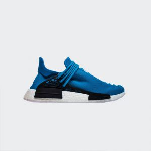 "Pharrell Williams x Adidas NMD Human Race ""Blue"" BB0618 Real Boost"