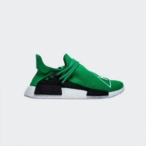 "Pharrell Williams x Adidas NMD Human Race ""Green"" BB0620 Real Boost"