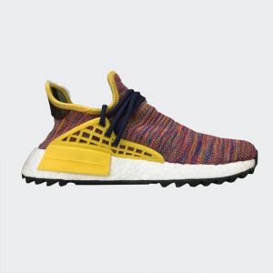 "Pharrell Williams x Adidas NMD Human Race ""Rainbow"" Real Boost AC7360"