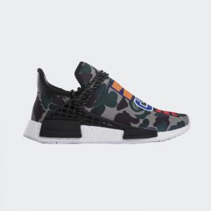 Bape x Pharrell Williams x Adidas NMD Human Race Real Boost BB0623