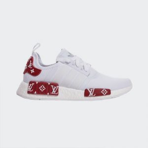 "Adidas NMD R1 Mesh ""White Red"" BV1608"