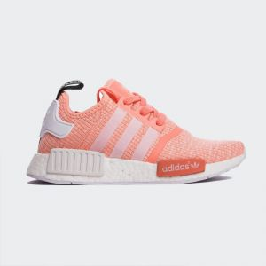 "Adidas NMD R1 Primeknit ""Sunglow Glitch"" BY3034"