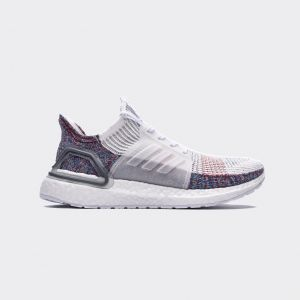 Adidas Ultra Boost 19 White Multicolor B37708