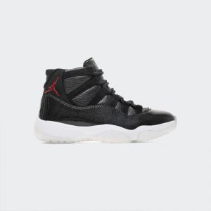 Air Jordan 11 Retro Black Gym Red White 378037-002