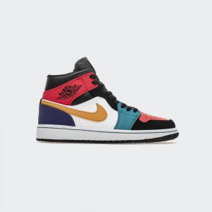 "Air Jordan 1 Mid ""Multi-Color"" 554724-125"