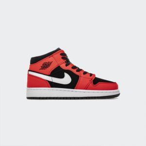 Air Jordan 1 Mid Black Infrared 554725-061