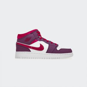 Air Jordan 1 Mid (GS) New Valentine 555112-661