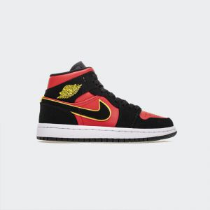 "Air Jordan 1 Mid ""Hot Punch"" BQ6472-006"