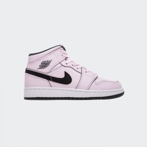 Air Jordan 1 Retro Mid(GS) Pink 555112-601