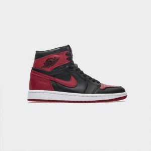 "1ba8f06511f072 Air Jordan 1 Retro High ""Banned"" 555088-001"
