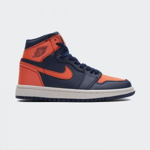 Air Jordan 1 Retro High Blue Void Turf Orange (W) AH7389-408