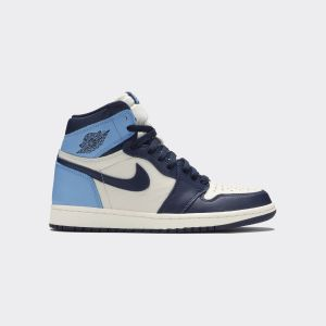 Air Jordan 1 Retro High OG 'Obsidian' - Air Jordan - 555088-140