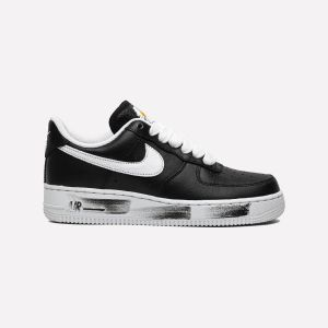 PEACEMINUSONE X Nike Air Force 1 Low Black White AQ3692-001