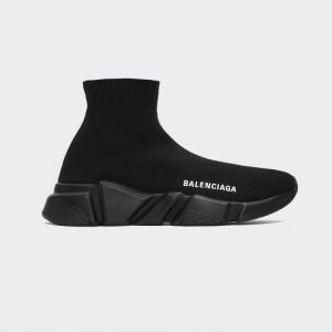 Balenciaga Speed Runner hi-top Sneaker Black