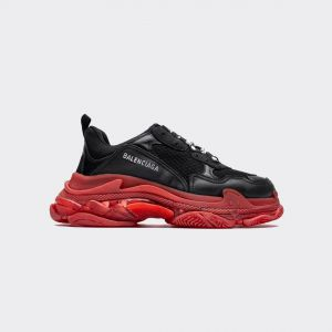 Balenciaga Triple S Black Red 533882 W09O1 1000